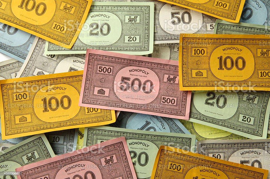 Monopoly-Spiel Geld – Foto