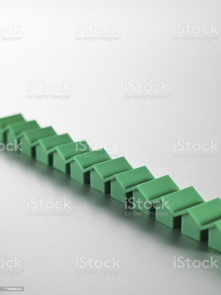 Monopoly Houses royalty-free stock photo