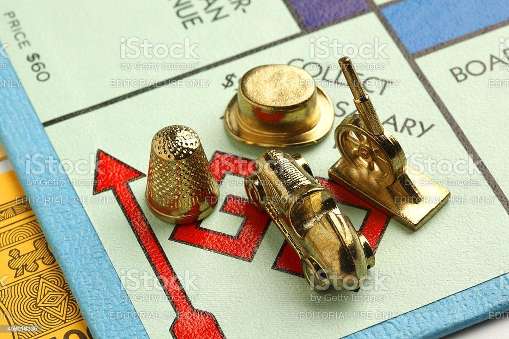 Monopoly royalty-free stock photo