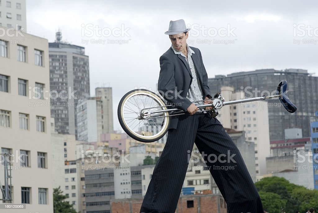 monorcycle guitar royalty-free stock photo