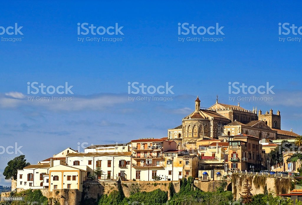 Monreale stock photo
