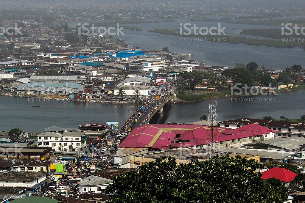 Monrovia, Liberia stock photo