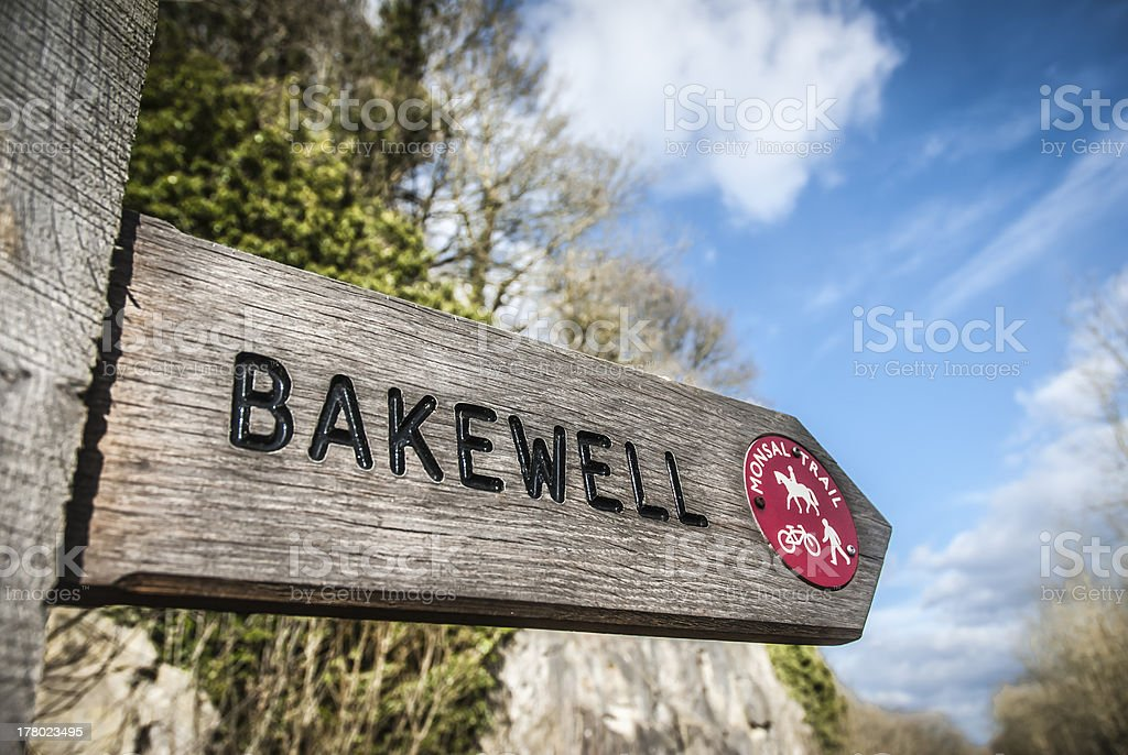 Monsal Trail-Bakewell stock photo