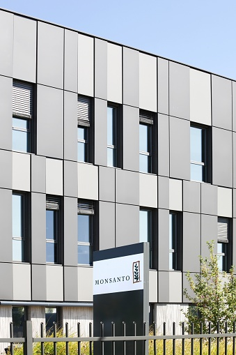 istock Monsanto office building and european headquarters in Saint Priest, France 1035533954