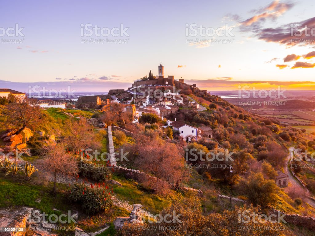 Monsaraz in der Region Alentejo, Portugal. – Foto