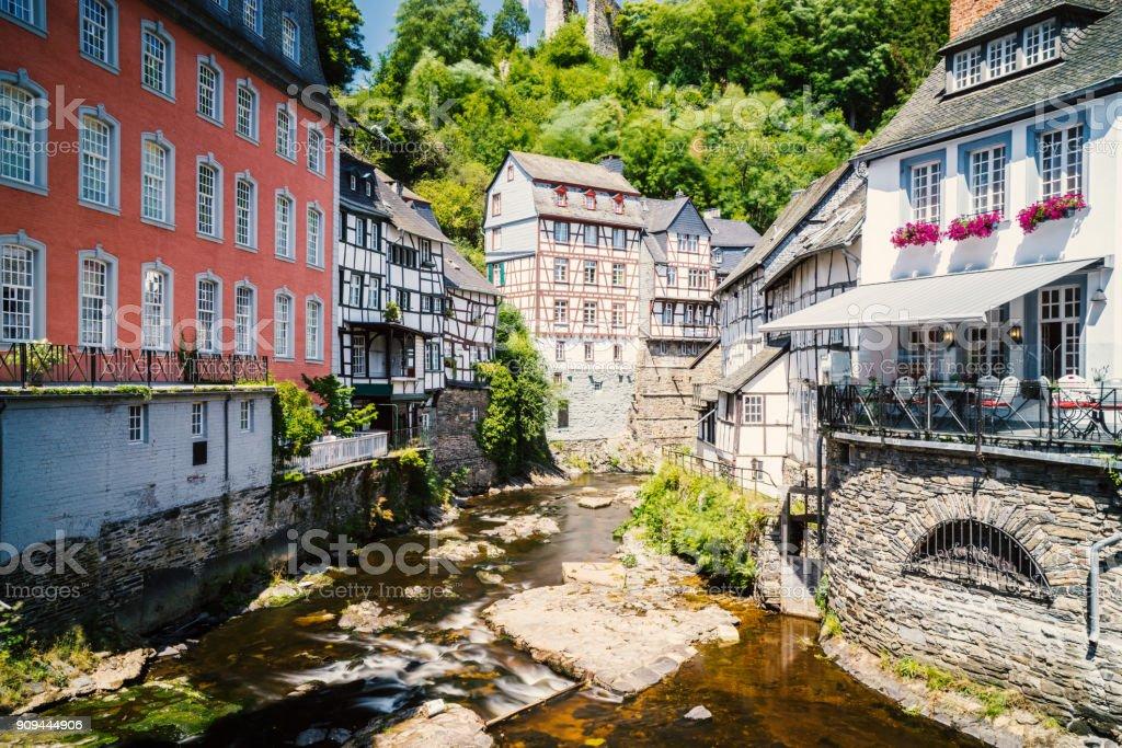 Monschau Lizenzfreies stock-foto