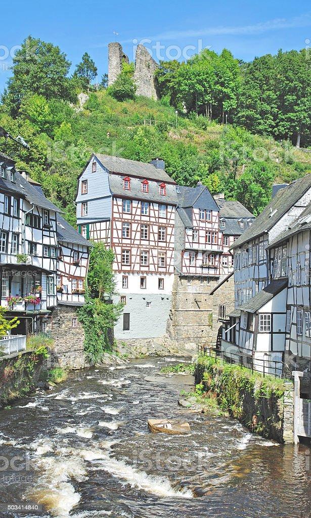 Monschau,Eifel,Germany stock photo