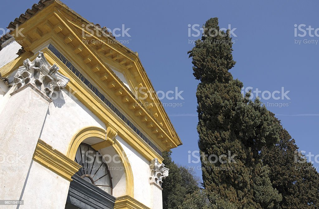 Monselice: Seven churches royalty-free stock photo
