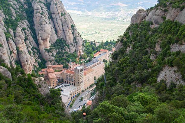 Monserrat Kloster. Katalonien, Spanien – Foto