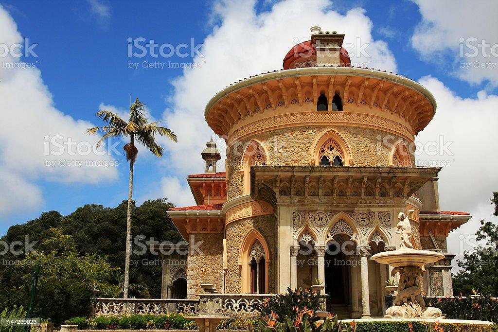 Monserrate Palace stock photo