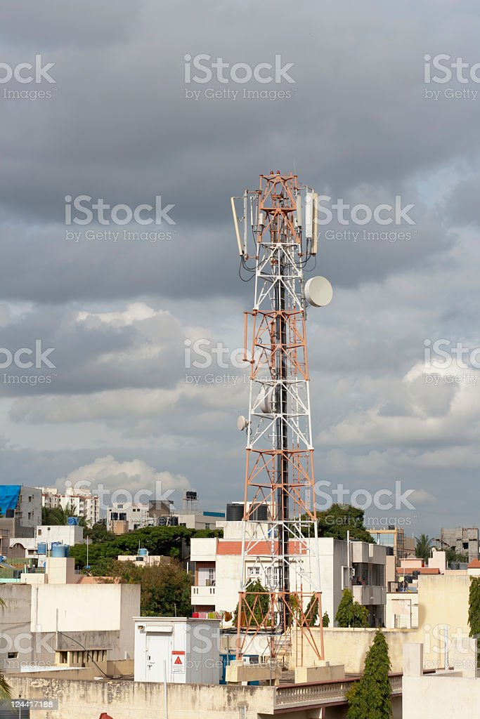 Monsoon clouds, India royalty-free stock photo