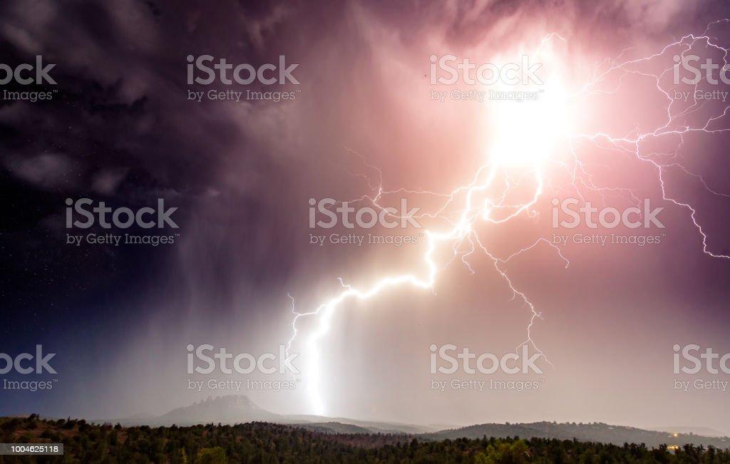 Monsoon Fury - fotografia de stock