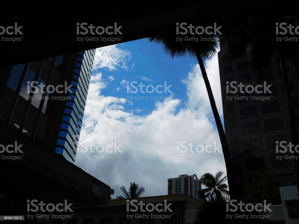 Monsoon Honolulu photo libre de droits