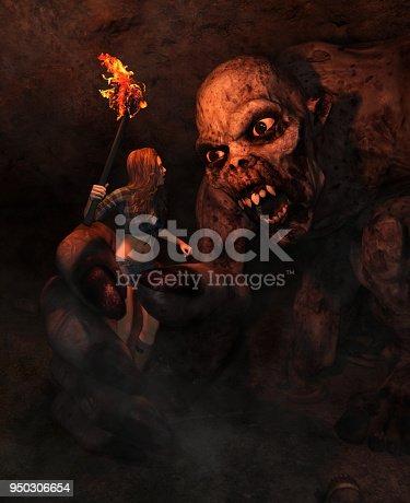 istock Monster attack 950306654