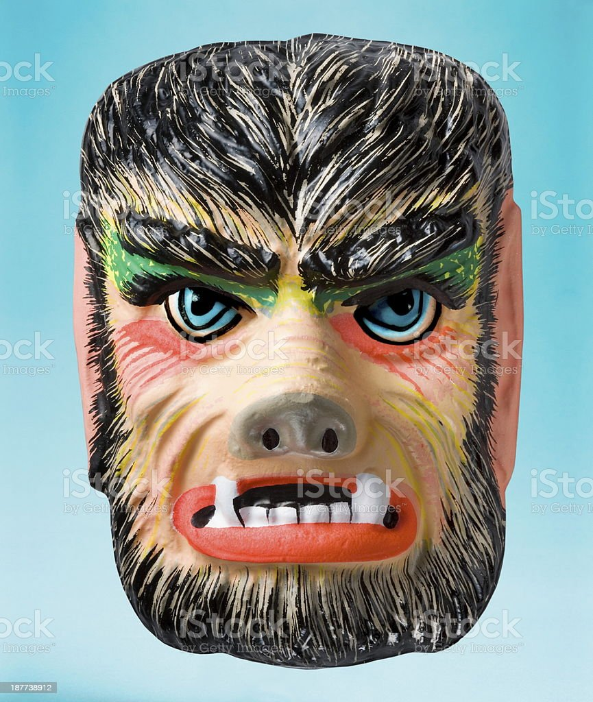 Monster Halloween Mask stock photo