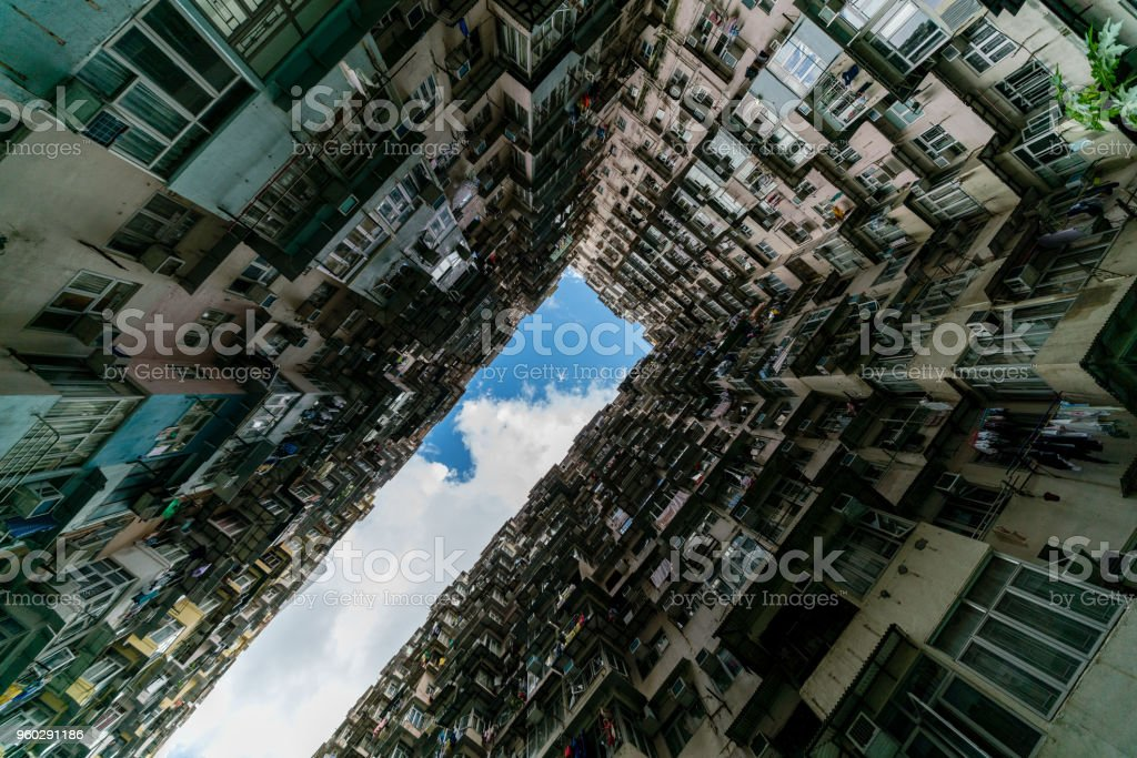 monster residential building stock photo