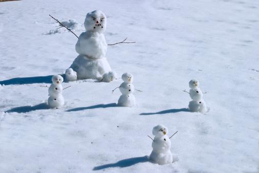 monster snowman