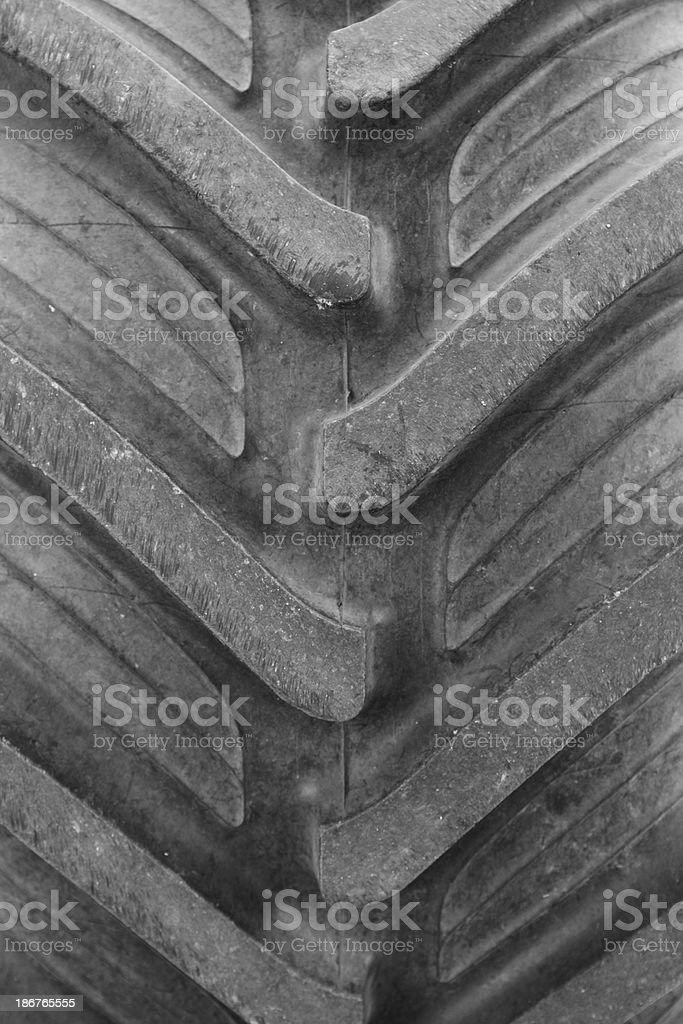 Monster truck tire royalty-free stock photo