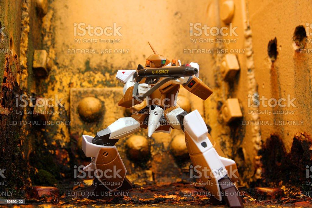 Monsterous Robot stock photo