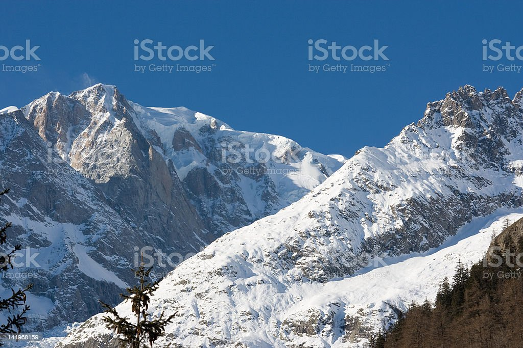 Monte Bianco royalty-free stock photo