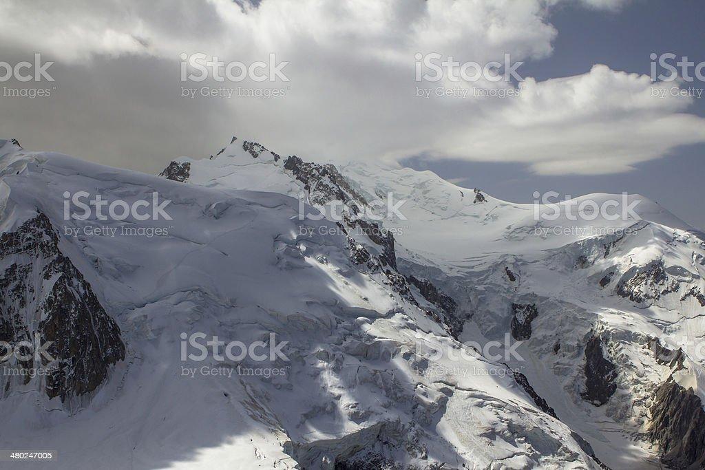 Mont Blanc royalty-free stock photo