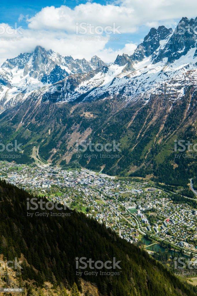 Mont Blanc foto de stock royalty-free