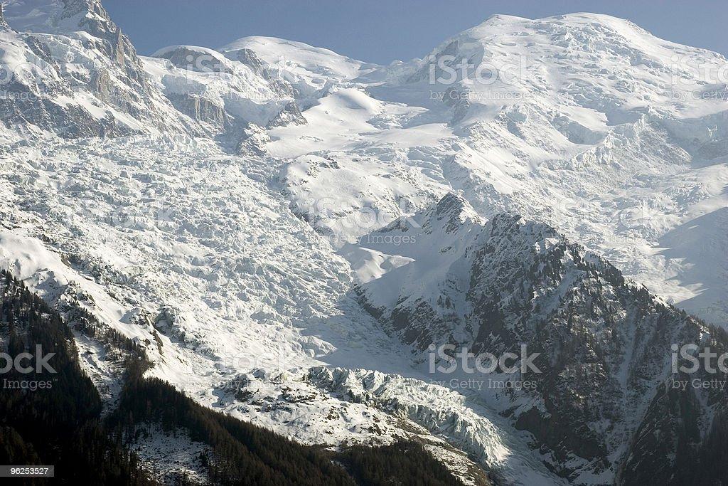 Monte Blanc - Foto de stock de Alpes europeus royalty-free