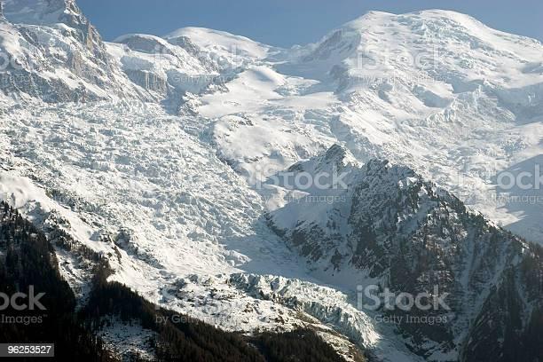 Foto de Monte Blanc e mais fotos de stock de Alpes europeus