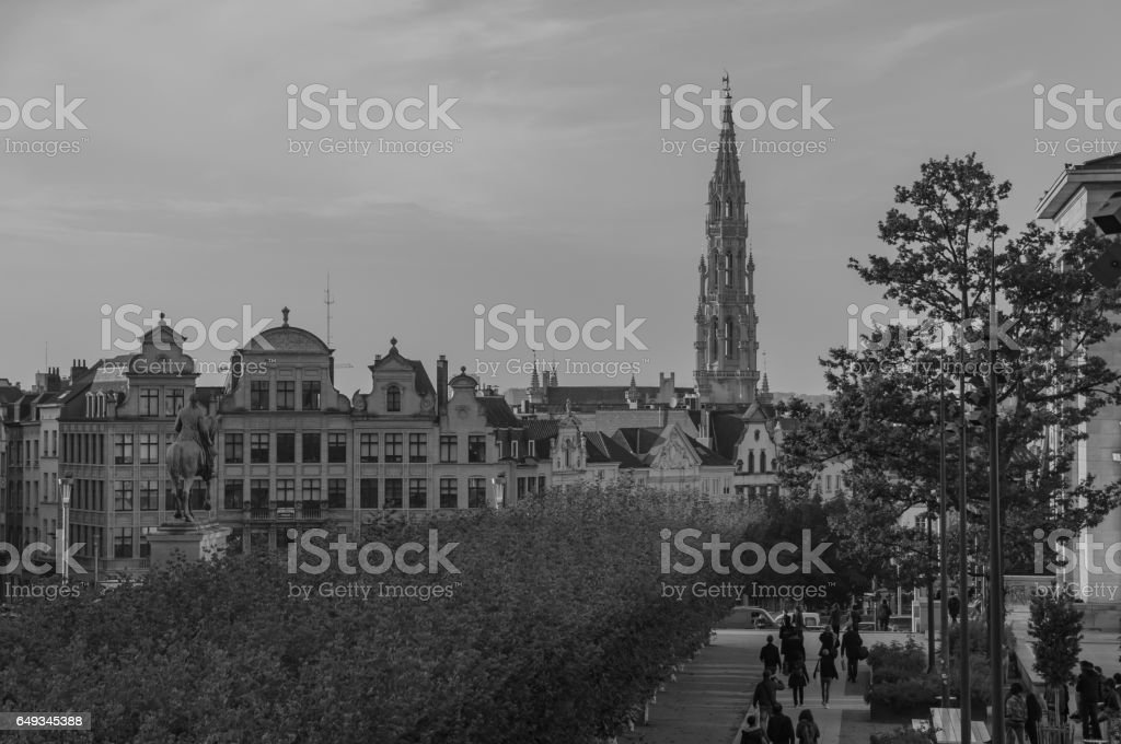 Mont des Arts I stock photo
