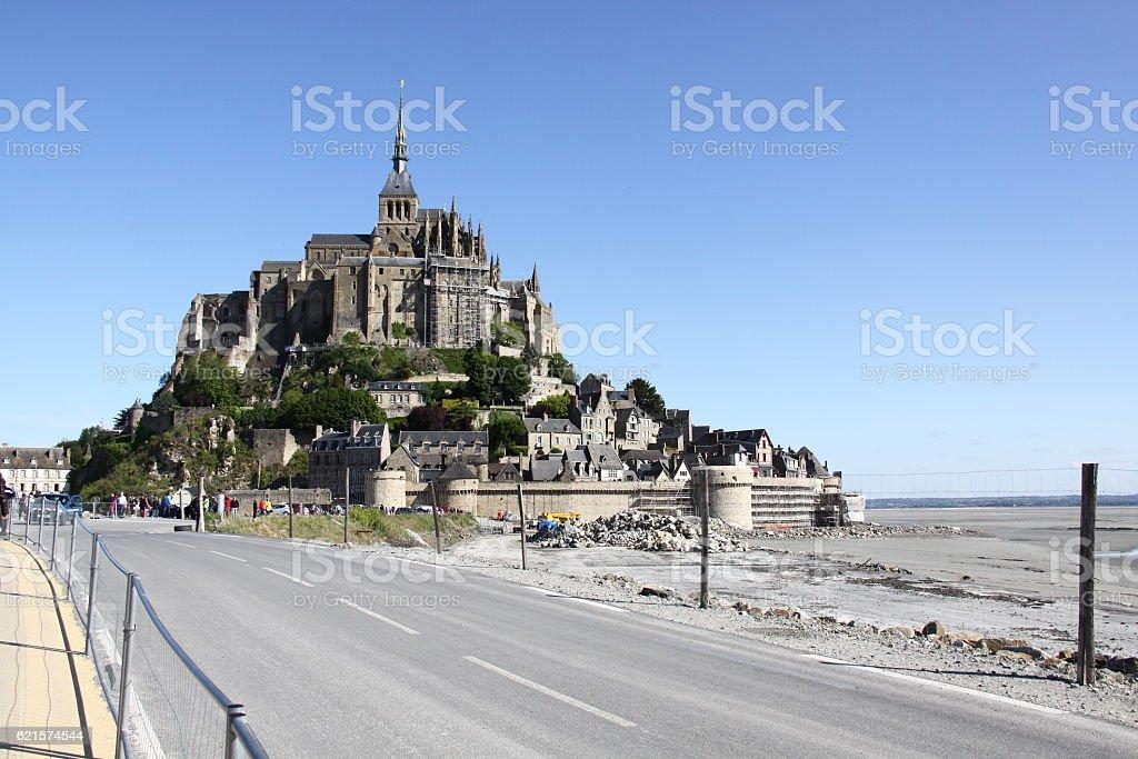 Mont-Saint-Michel  photo libre de droits