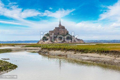 istock Mont Saint Michele, France 1279347146