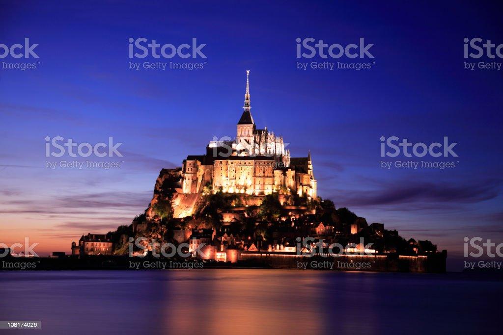 Mont Saint-Michel, France royalty-free stock photo