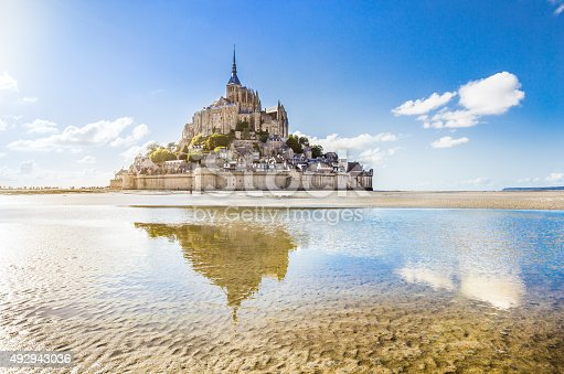 istock Mont Saint-Michel, Normandy, France 492943036