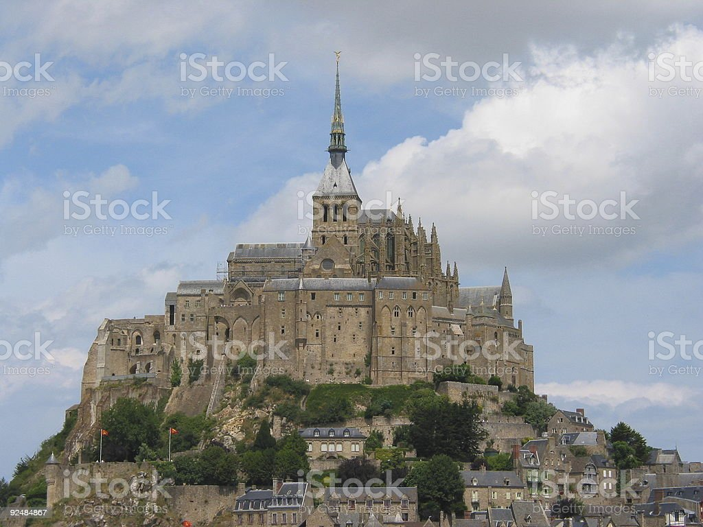THE Mont St Michel royalty-free stock photo