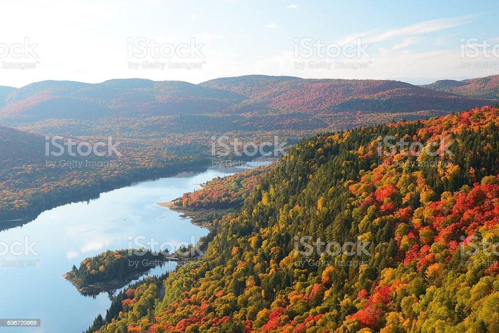 Mont Tremblant National Park stock photo