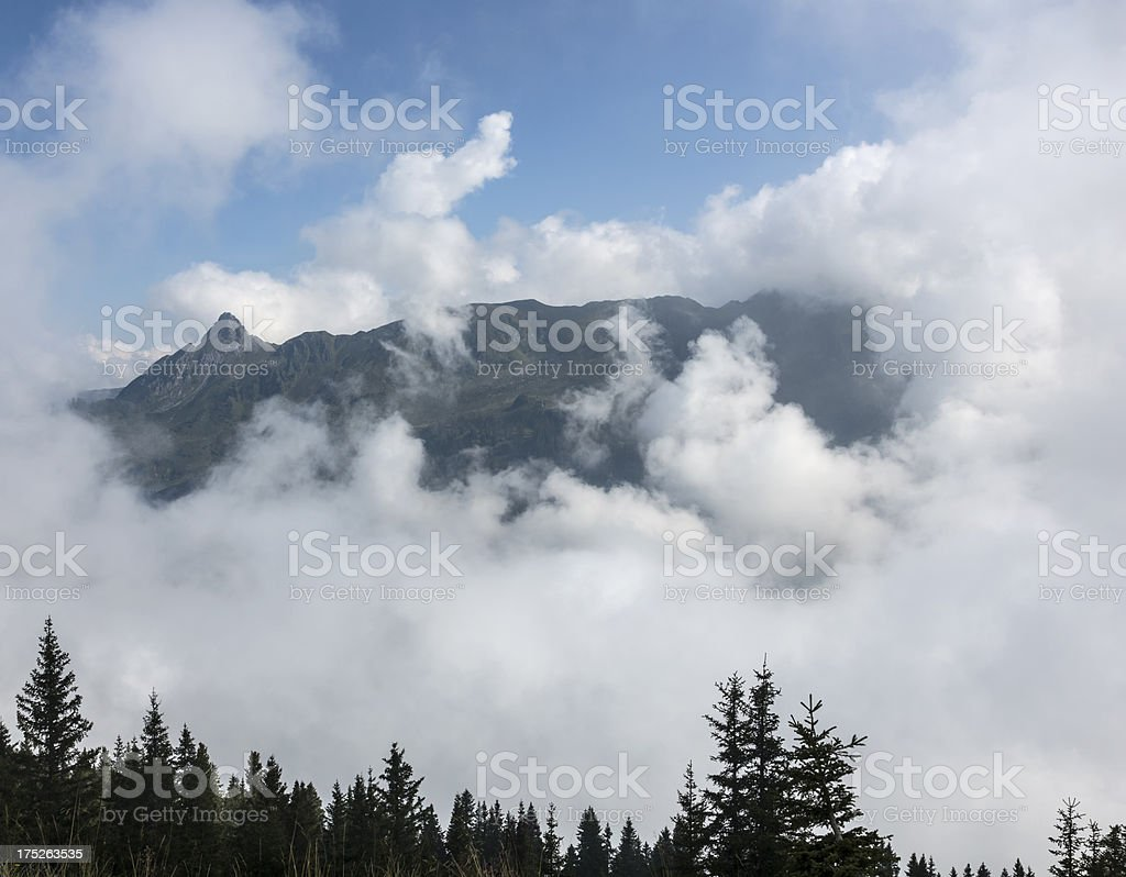 Montafon Alps royalty-free stock photo
