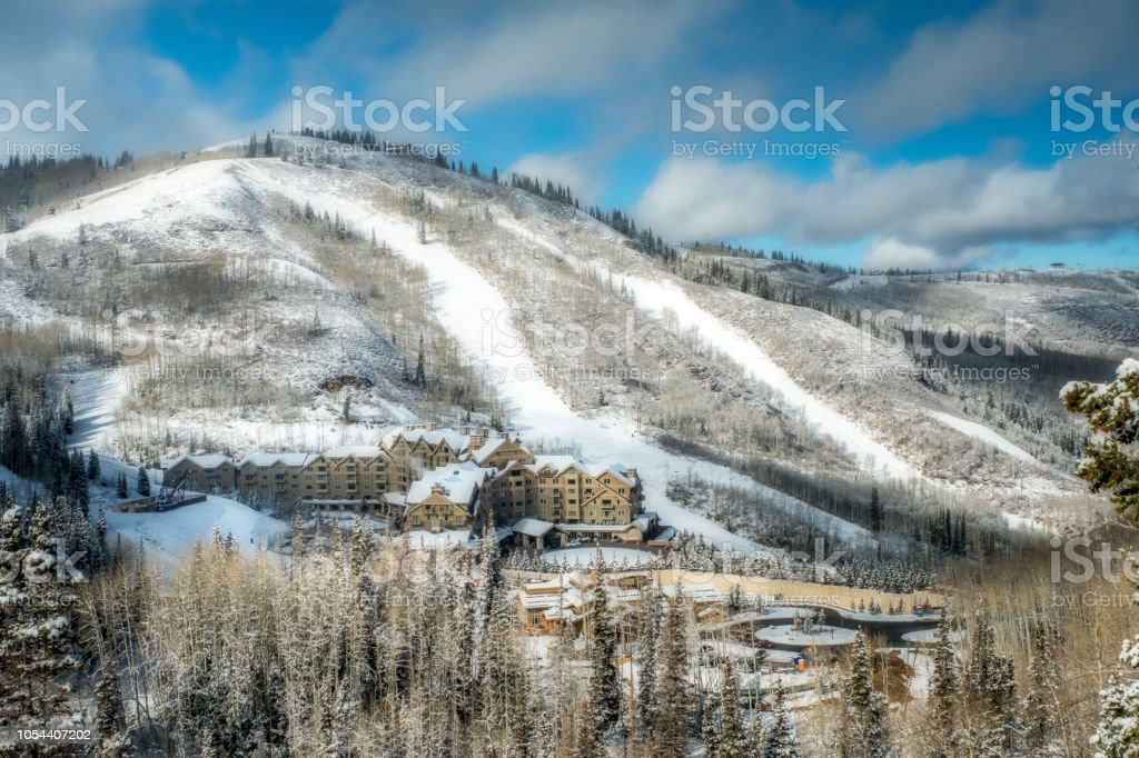 Montage Hotel - Deer Valley stock photo