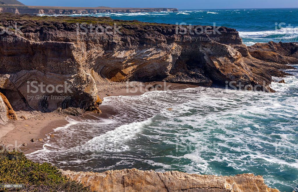 Montana de Oro State Park stock photo
