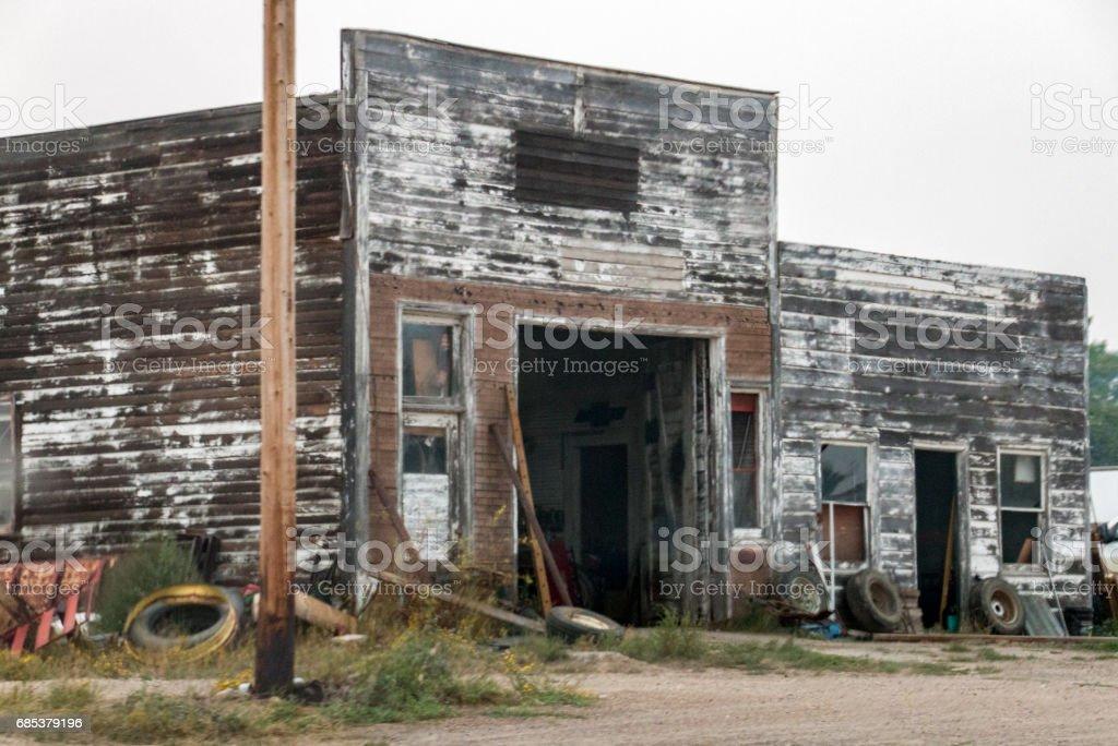 Montana garage foto de stock royalty-free
