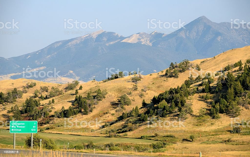Montana Landscape stock photo