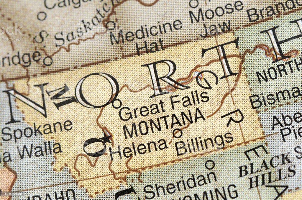 Montana stock photo