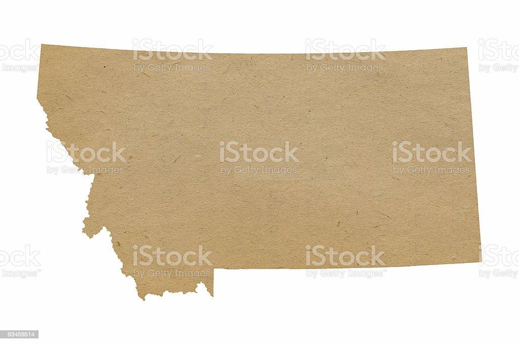 Montana Recycles stock photo