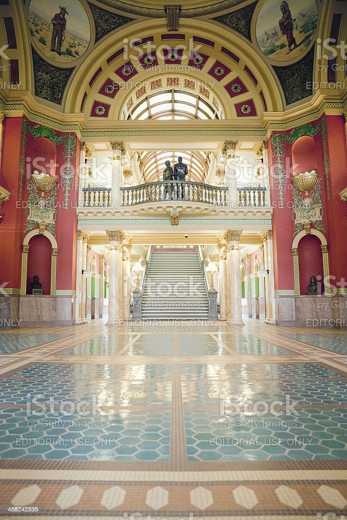 Montana State Capitol Building royalty-free stock photo