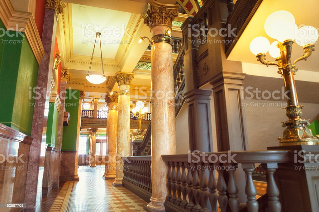 Montana State Capitol Building stock photo