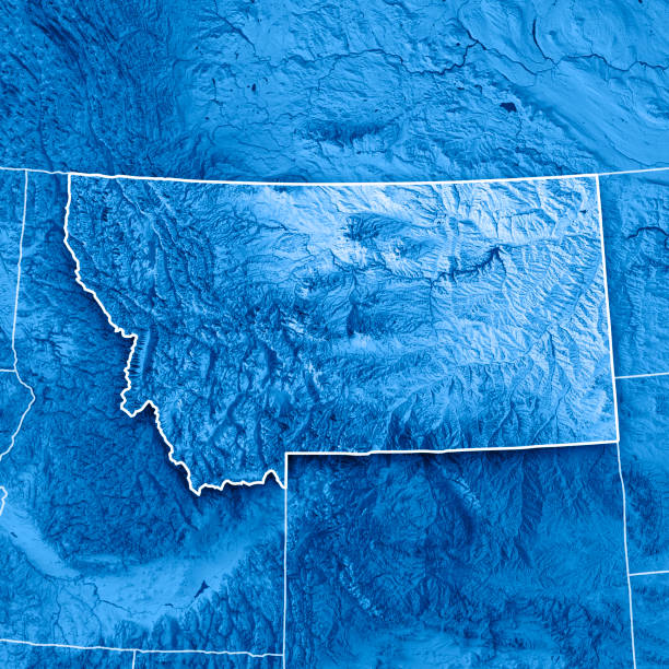 Bitterroot Mountains Pictures Images And Stock Photos IStock - Montana state usa map