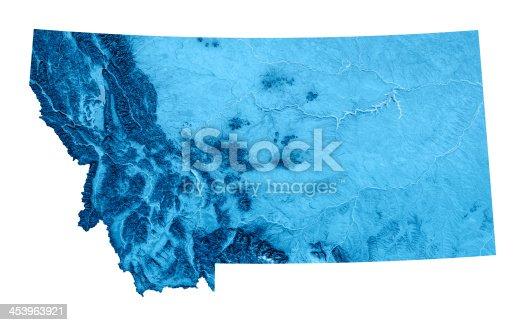 173169385istockphoto Montana Topographic Map Isolated 453963921