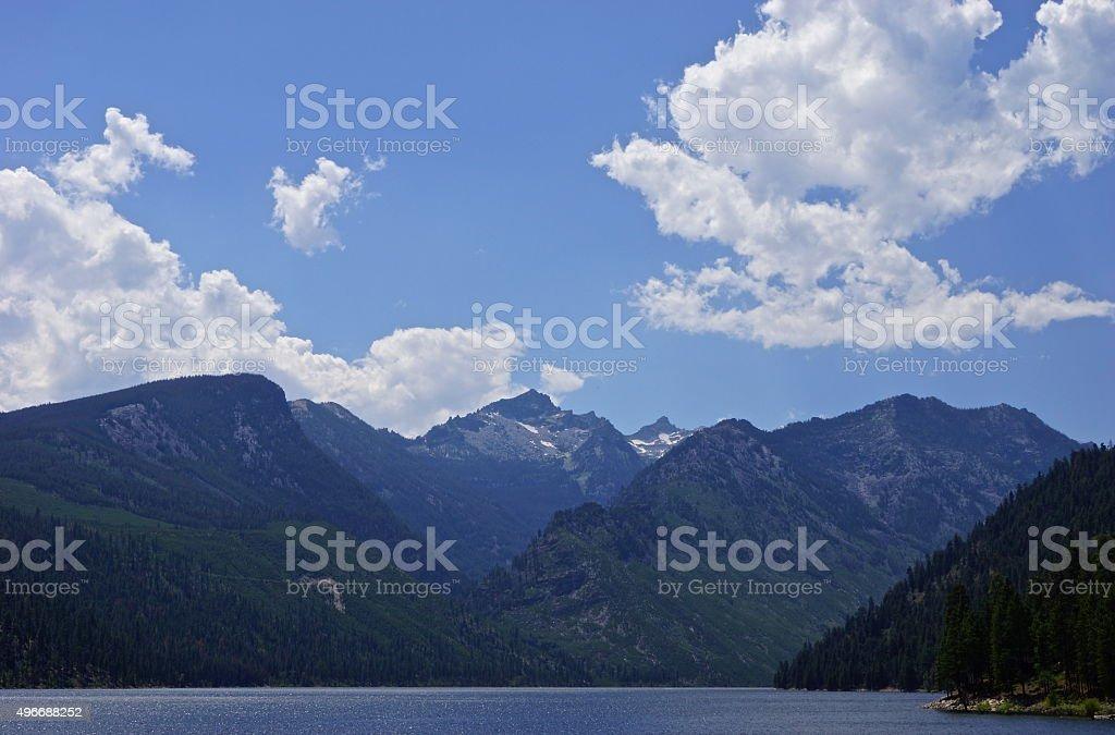 Montana's Lake Como stock photo