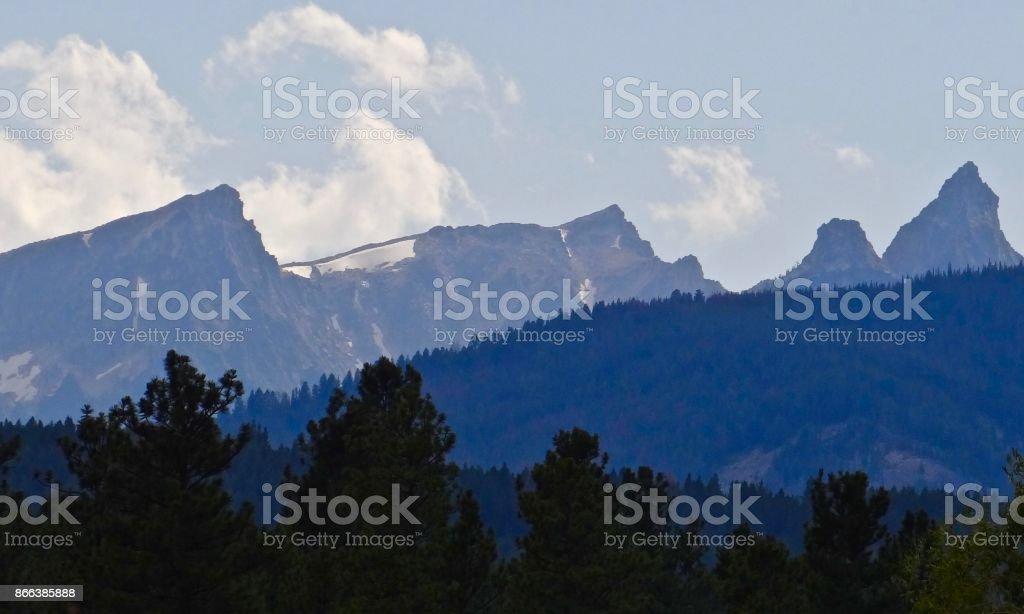 Montana's Trapper Peak stock photo