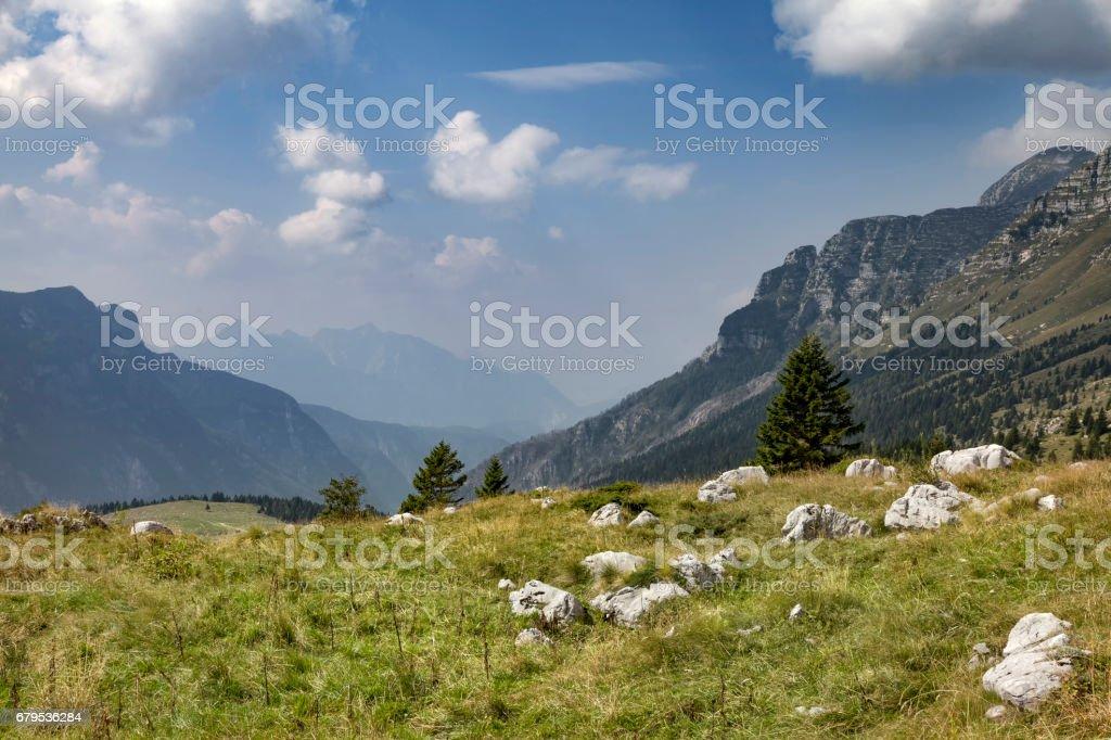 Montasch - Almen, Italien royalty-free stock photo
