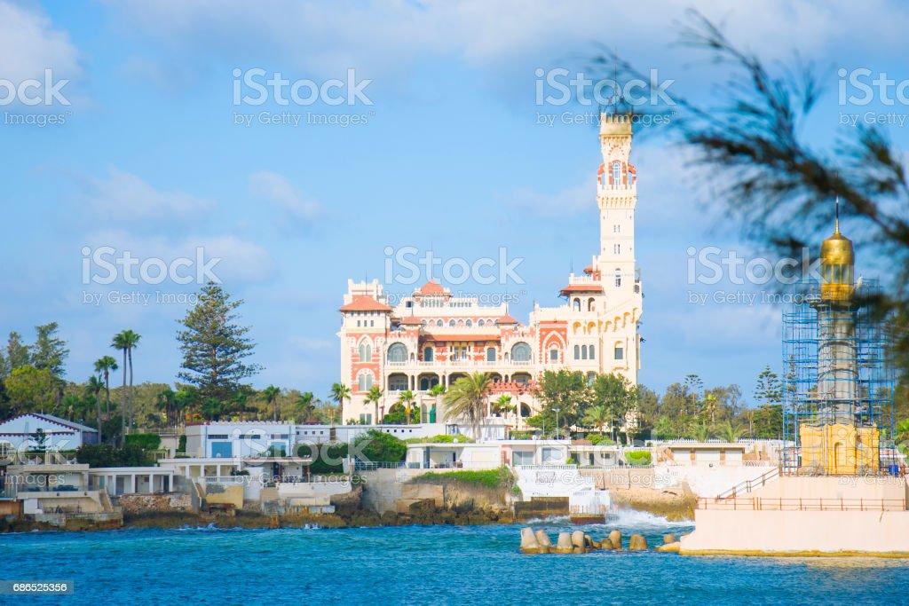 Palácio de Montaza, em Alexandria, Egito - foto de acervo